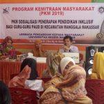 Dosen PLB FIP UNM Gelar Sosialisasi Penerapan Pendidikan Inklusif