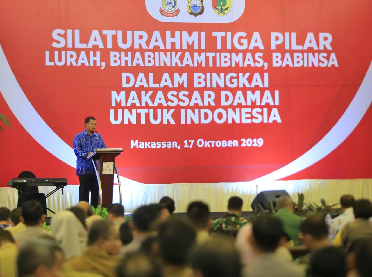 Pemerintah Kota Makassar, Iqbal Suheab bangun sinergitas dengan lurah, Babinkamtibmas, dan Babinsa jaga keamanan Makassar jelang Pelantikan Presiden (Foto: Humas Pemkot Makassar/zonatimes.com)