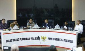 Iqbal Suhaeb Tudang Sipulung dengan jajaran Forkopimda Sulsel (Foto:Tajuk/zonatimes.com)