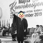 Mahasiswa hormat ala Nazi di acara wisuda di Malaysia (Foto: Thestar/zonatimes.com)