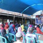 Arifin Bando Reses ke Kelurahan Mamminasae Kecamatan Paleteang Kabupaten Pinrang (Foto: Hamdan/zonatimes.com)