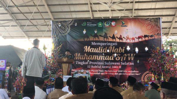 Rektor UIN Alauddin Makassar Prof Hamdan Juhannis ceramah maulid nabi di Pemkot Makassar (Foto: ist/zonatimes.com)
