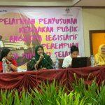 KPI Sulsel gelar pelatihan Penyusunan Kebijakan Publik Anggota Legislatif Perempuan Sulsel di Hotel Makassar Golden Hotel, Senin, 11 November 2019 (Foto: Rahman/zonatimes.com)