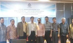 Pimpinan dan dosen FTK UIN Alauddin Makassar (Foto:Ist/zonatimes.com)
