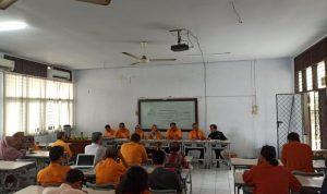 Dialog jajaran pimpinan Fakultas Ekonomi UNM dan Mahasiswa (Foto:Ist)