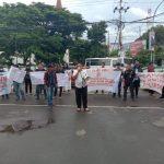 Massa aksi demonstrasi Koalisi Rakyat Bersatu (Foto:Ist)