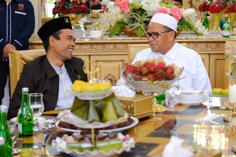 Nurdin Abdullah jamu sarapan pagi UAS seusai beri ceramah (Foto:Ist)
