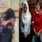 Video TikTok tiga wanita di Masjid dan Klarifikasinya (Foto: Screenshot @yuni.rusmini.58)