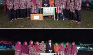Kontingen kecamatan Bantaeng sebagai Juara Umum MTQ ke 32 Kabupaten Bantaeng (Foto:Aril)
