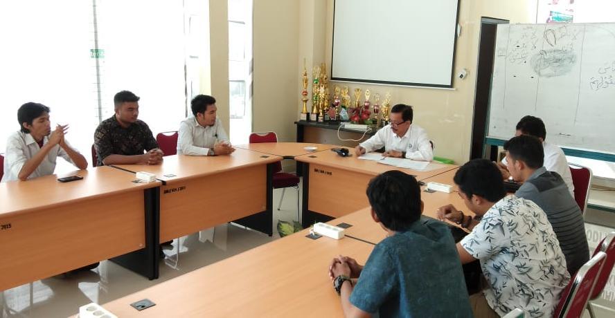 Pengurus HMPI Sulsel silaturahim Wakil Rektor UIM (Foto:Ist)