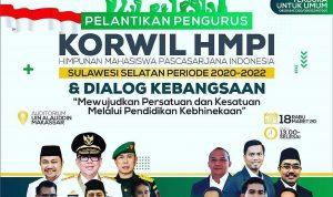Poster pelantikan pengurus HMPI Sulsel resmi ditunda