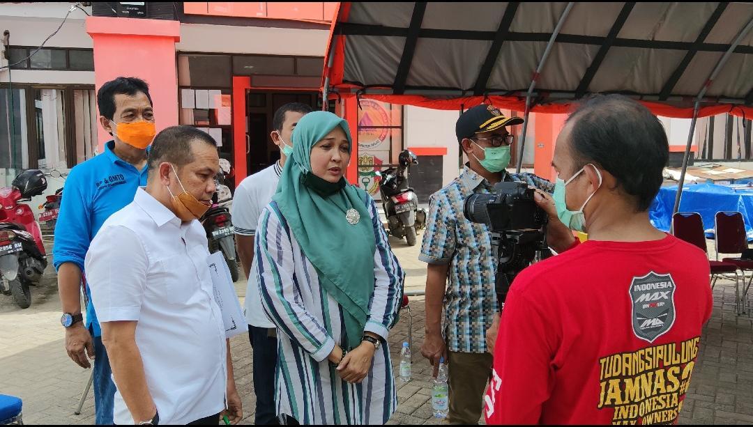 Andi Nurhidayati saat Kunjungan Kerja di Kabupaten Wajo (Foto: Rahman)