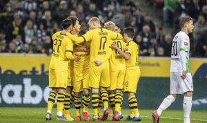 Dortmund Tundukkan Gladbach 2-1