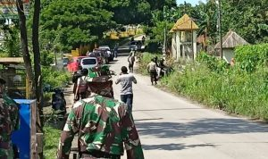 Kondisi Pemakaman jenazah terkait virus Corona di Macanda, Samata Gowa (Foto:Ist)