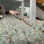 Paket sembako untuk warga (Foto:Ist)