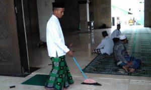 Ilustrasi Marbot Masjid (Foto Merdeka)