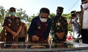 Gubernur Sulsel Nurdin Abdullah resmikan RSUD Sayang Rakyat dan RSUK Dadi ,Senin (11/5/2020) .ist