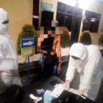 Pelanggar PSBB di Gowa Reaktif Corona (Foto: Ist)