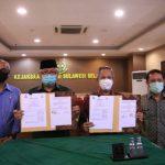 Pemkot Makassar bersama Kejaksaan Tinggi (Kejati), melakukan Momerandum Of Understanding (MoU) amankan dua aset pulau