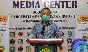 Juru bicara gugus tugas percepatan penanganan covid- 19 Kabupaten Kepulauan Selayar dr. Husaini