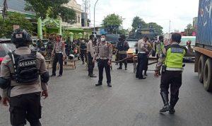 Polisi di Gowa jaga ketat sejumlah titik perbatasan di Gowa