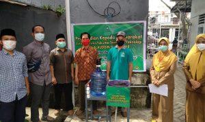 Tim Dosen UIN Alauddin Ciptakan Alat Pencuci Tangan Bersensor (Foto:Ist)