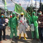 Relawan Pemuda BTP Blok M kota Makassar (Foto:Ist)
