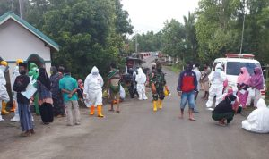 Pemeriksaan massal di dusun Baturapa, Kelurahan Borongrappoa kecamatan Kindang kabupaten Bulukumba Selasa, (12/5/2020) ist