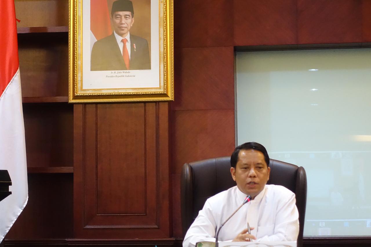 Dirjen Bimas Islam Kemenag Kamaruddin Amin