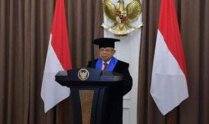 Wakil Presiden Republik Indonesia, Ma'ruf Amin dianugerahi gelar doktor honoris causa dari UMI