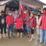 Baguna PDIP Sulsel salurkan bantuan kepada warga di Luwu Utara (Foto:Ist)