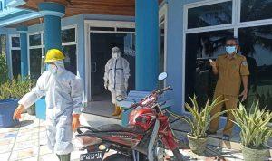 Petugas medis Covid-19 di Hotel Selayar Beach, Kecamatan Benteng, Selayar.