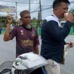 Persaudaraan Celebes Kalimantan Papua Barat mengadakan penggalangan dana serentak untuk bantuan kemanusiaan terhadap musibah banjir bandang yang terjadi di Masamba, Kabupaten Luwu, Provinsi Sulawesi Selatan, Sabtu (18/07/2020).