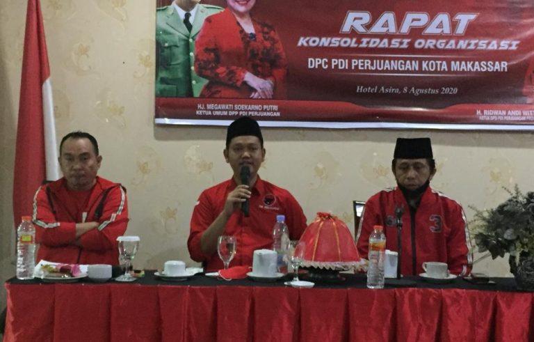 DPC PDIP Kota Makassar bergerak masif mensosialisikan Syamsu Rizal-Fadli Ananda alias Dilan pada Pilwalkot Makassar 2020 hingga ke tingkat RT/RW