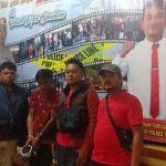 ARSS (26) warga jalan Samura, Kecamatan Kabanjahe, Kabupaten Tanah Karo, Sumatera Utara ditangkap polisi Jumat (31/7/2020) kemarin, di kawasan Desa Rumah Pilpil, Kecamatan Sibolangit, Kabupaten Deli Serdang.