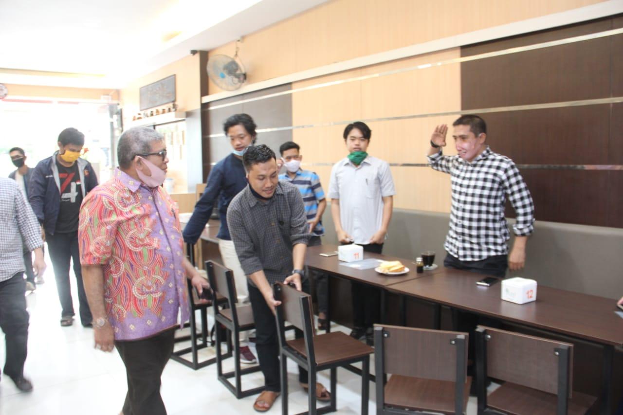 Pertemuan Daeng Ical bersama sejumlah pengurus Muhammadiyah Sulsel (Foto: Ist)