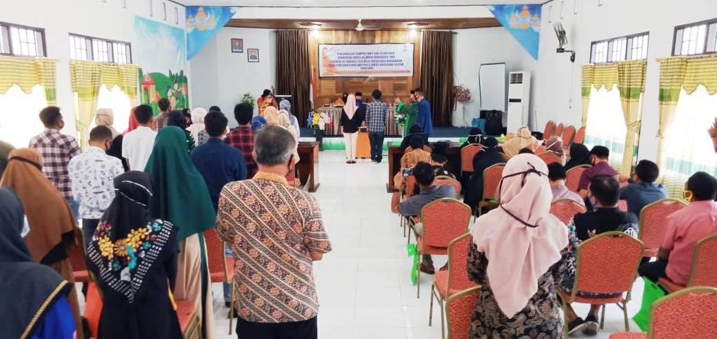 Matangkan Penyelenggaraan Pilkada Bupati 2020 KPU Selayar Lantik 33 Orang Relawan Demokrasi