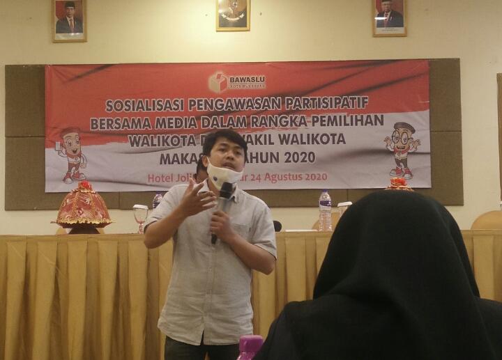 Ketua AJI Makassar, Nurdin Amir