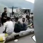 Video wanita jatuh di motor teriak 'tarik sis' di jalan (foto; instagram)