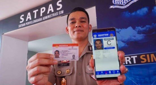 Aplikasi perpanjang SIM Online