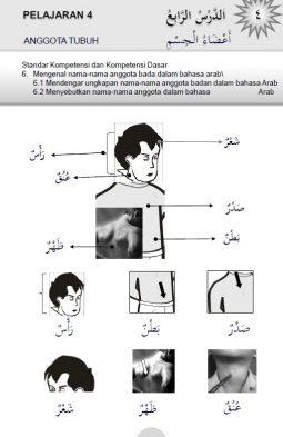 Belajar Bahasa Arab Online: Kosa Kata Tubuh
