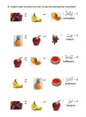 Mengenal Nama-nama Buah dalam Bahasa Arab